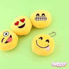 Emoji Plushie Charm