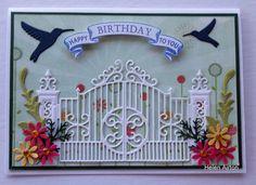 DTGD13frenziedstamper, Garden Gate by Waratah - Cards and Paper Crafts at Splitcoaststampers