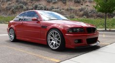 #BMW E46 Imola Red M3