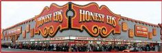 """Honest Eds~Celebrating our 65th Anniversary in 2013!~A landmark for tourists and an entertaining shopping experience for all.""""New York has Macy's,London has Harrods,Chicago has Marshall Fields,and Toronto has Honest Ed's.It is quite an attraction-honest,""""proclaims The Great Toronto Getaway,Buffalo,USA.Welcome,don't faint at our low prices,there's no place to lie down.""""We don't offer service.We have a slogan--serve yourself and save a lot of money."""""""