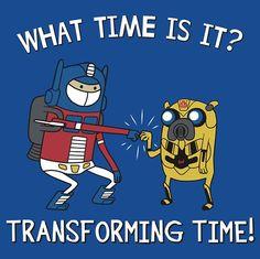 transforming time!