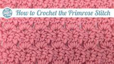 The Primrose Stitch :: Crochet :: New Stitch a Day