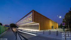 halle de marché - Cachan (94) : croixmariebourdon architectures