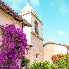 Travel Realization's Instagram. This is the beautiful Carmel Mission in California. #Carmel #California #SpanishMission #TravelCalifornia #Monterey #NorthernCalifornia #TravelInspiration #TravelAmerica
