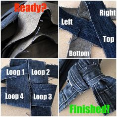 Creativity Unmasked: DIY No-Sew Denim Dog Toy Really Easy Especially if you have old jeans or denim scraps Diy Puppy Toys, Diy Toys, Rottweiler Puppies, Toy Puppies, Poodle Puppies, Homemade Dog Toys, Diy Jeans, Dog Chew Toys, Dog Chews