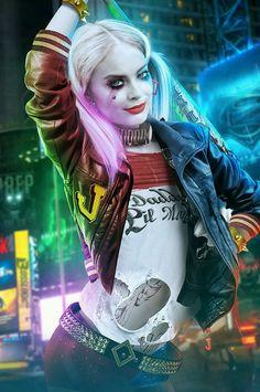 daily-superheroes: Harley Quinn fan art by BossLogichttp://daily-superheroes.tumblr.com