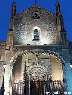 "Church of San Jerónimo el Real, popularly known as ""Los Jeronimos"", Madrid, Spain"