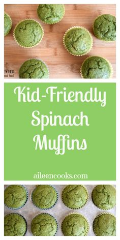 Nov 2018 - Whip up a batch of these tasty and kid-friendly spinach muffins with your leftover spinach and banana. Make sure you check our full list of cooking recipes for kids, too. Baby Muffins, Veggie Muffins, Savory Muffins, Kids Cooking Recipes, Cooking With Kids, Easy Cooking, Healthy Cooking, Baby Food Recipes, Kid Recipes