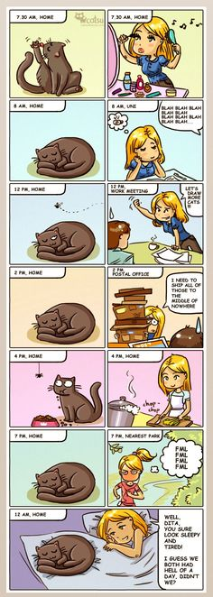 Comics | Catsu The Cat http://ibeebz.com