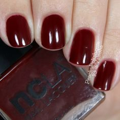 Rodeo Drive Royalty | Classic go-to deep red nail color