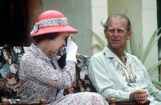 The Queen and The Duke of Edinburgh informal.