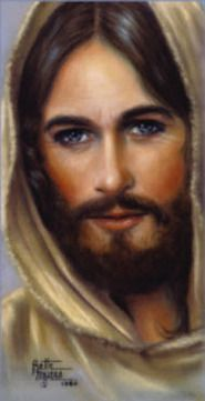 Jesus picture ~ Kylie!! This is in your grandmas house with a cool story!!!