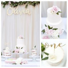 Floral First Birthday Party on Kara's Party Ideas | KarasPartyIdeas.com (4)