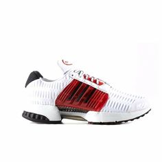 new style 98ba2 ab900 adidas Originals Climacool 1 Running Trainers Shoes White Red Black size 11  NIB  adidas