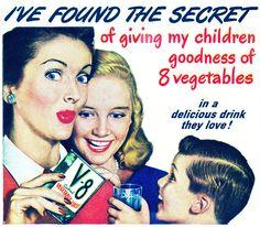 Del viejo conocido jugo de verduras, 1948.