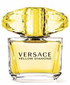 Versace Yellow Diamond Eau De Toilette Spray, Perfume for Women 3 oz Perfume Versace Mujer, Perfumes Versace, Versace Fragrance, Perfume Hermes, Fragrance Parfum, Versace Versace, Gianni Versace, Marca Versace, Donatella Versace