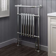 Traditional Standard Handdoekradiator Towel Chrome 96,3 x 67,3 cm
