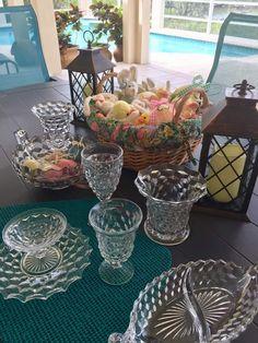 Fostoria Glassware, Table Settings, Table Decorations, Furniture, Home Decor, Decoration Home, Room Decor, Place Settings, Home Furnishings