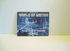 Vintage 1982 General Motors Walt Disney Epcot by TheVintageReader, $17.00