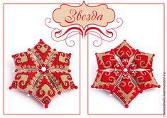 Мастер-класс: делаем оригинальную текстильную звезду на Новый год - Ярмарка Мастеров - ручная работа, handmade