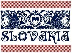 Magnetka - ľudový ornament dvojfarebný - v tmavomodrej a bordovej farbe. Hungarian Embroidery, Folk Embroidery, Learn Embroidery, Embroidery Patterns, Polish Folk Art, Arte Popular, Antique Quilts, Embroidery Techniques, Retro