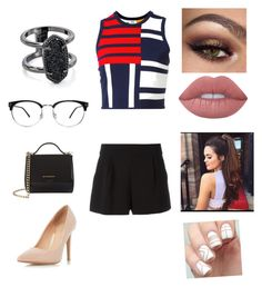 """""""Untitled #1663"""" by glamor234 on Polyvore featuring Tommy Hilfiger, Dorothy Perkins, Givenchy, Kendra Scott, Boutique Moschino and Lime Crime"""