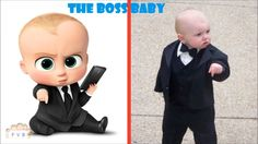 The Boss Baby Cast In Real Life