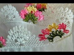 İğne oyaları 2017 / How to make needle lace tutorial tatting Tatting Tutorial, Needle Lace, Ford, Knots, Diy And Crafts, Embroidery, How To Make, Model, Jewelry