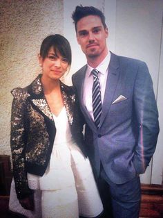 Kristin Kreuk and Jay Ryan ~ Cat and Vincent on Beauty and the Beast