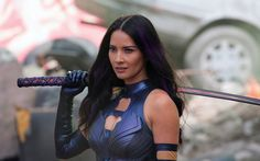 Olivia Munn as Psylocke in X-Men: Apocalypse 2016  #OliviaMunn #Psylocke #XMen