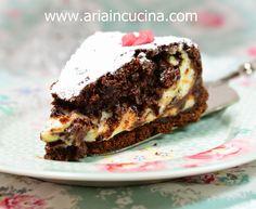Blog di cucina di Aria: Crostata al cioccolato, mascarpone e ricotta