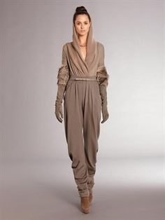 Yuk...high waisted, wrinkled and baggy from head to toe...reminds me of a shar pei.