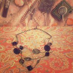 Black/Silver STATEMENT necklace Black/Silver STATEMENT necklace Jewelry Necklaces