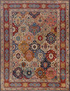 Persian Tabriz rug, Matt Camron gallery