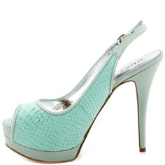 Glenisa - Light Blue Leather  Guess Shoes $99.99