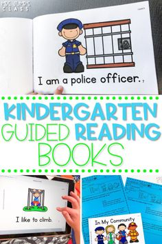 These kindergarten guided reading books can be used digitally or in print. Each leveled reader is perfect for kindergarten small reading groups, to help students master their early literacy skills.