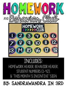 Homework club names