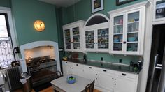 The kitchen in the dream home of Ron Tanner and Jill Eicher.