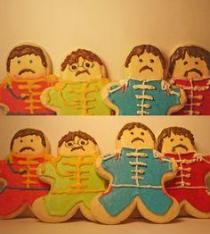Sgt Pepper!! Beatles cookies