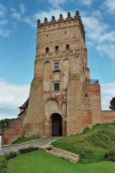 Great Castles of Europe: Lutsk castle  is one of the most powerful fortress...