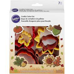 Wilton 7-Piece Autumn Cookie Cutter Set Wilton