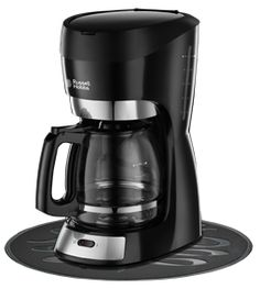 Russell Hobbs South Africa boasts a collection of stylish coffee machines. Sleek stylish coffee machines ideal for your home. Drip Filter Coffee, Filter Coffee Machine, Drip Coffee Maker, Black Rock Coffee, Chicago Coffee Shops, Coffee Table With Stools, Russel Hobbs, Coffee Maker Reviews, Coffee Type