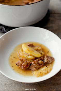 Pork Cider and Apple Casserole