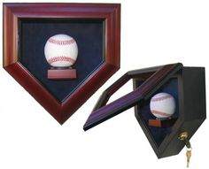 Display Case - Baseball - Premium...for that one special autographed baseball. Love this for a game room!