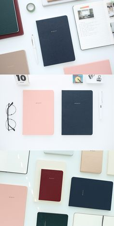 The classiest notebook we ever did see~! The Moment Lined Notebook features a sturdy synthetic leather cover and comes in several colors and 2 sizes. With plenty of college ruled pages to write, journal, and study, it's a must have in every stationery collection! Check out all the beautiful styles~