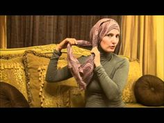 Totally love this look! I wear this all the time! Hijab Tutorial # 19 ( Easy Lazy Style)