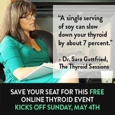Check out Wendy Myers' presentation at the Thyroid Sessions happening May 4-10. Reserve your FREE seat today!! http://bit.ly/HEALyourThyroid Learn how to heal your thyroid naturally and toss the hormones!
