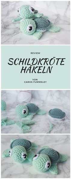 Amigurumi Schildkröte häkeln – Caros Fummeley –Thanks for this post.Amigurumi crochet pattern for a turtle - instructions from petitbonnet, tested by carosfummeley Baby Knitting Patterns, Crochet Blanket Patterns, Knitting Toys, Afghan Patterns, Crochet Afghans, Crochet Gratis, Crochet Toys, Free Crochet, Knit Crochet