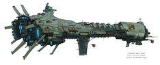 """Sci-Fi Spaceships | The Behemoth in Wildstar MMORPG | Sci-Fi: Spaceships"" Looks like a lobster machine gun to me."