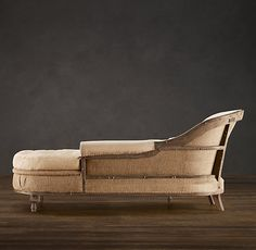 Deconstructed French Victorian Chaise